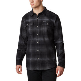 Columbia Flare Gun Corduroy Shirt Heren, city grey ombre tartan